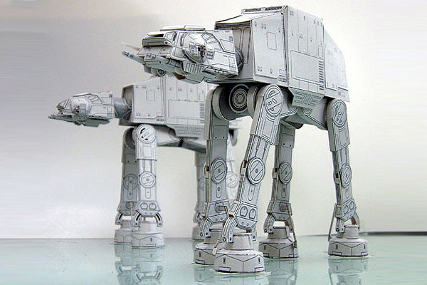 Papercraft – The Newest Level of Geekiness
